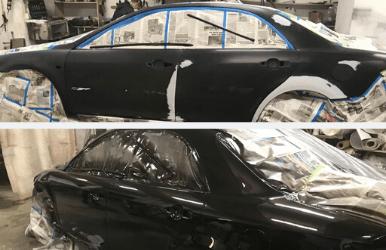 Покраска автомобиля в Томске