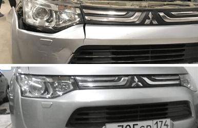 Ремонт бампера автомобиля в Томске